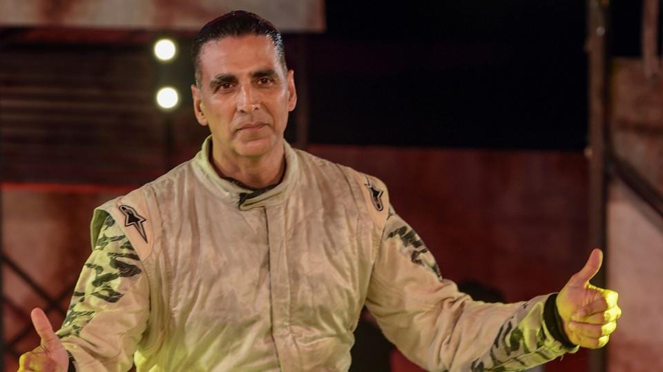 Akshay Kumar during the announcement of his upcoming web series on Amazon Prime, in Mumbai, Tuesday, March 05, 2019.