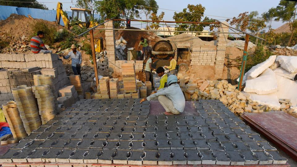 Photos: No takers for recycled goods, C&D plants in Delhi turn