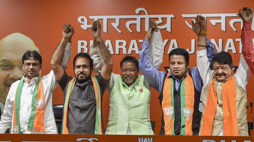 Image result for Trinamool's Arjun Singh to join BJP