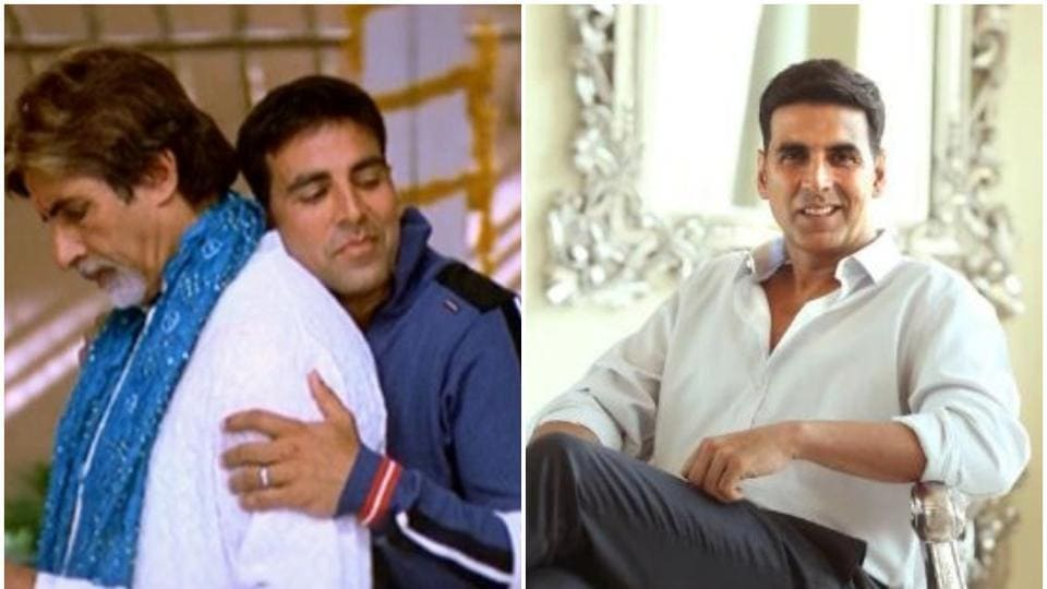 AkshayKumar says his father was battling cancer in real life, during the shoot of Waqt, like his onscreen father Amitabh Bachchan.