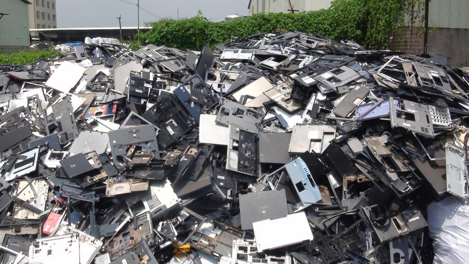 As per the E-Waste Management Rules, manufacturers of electric and electronic equipments must facilitate their collection and return it to authorized dismantlers or recyclers.
