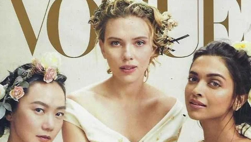Deepika Padukone features on Vogue cover with Avengers: Endgame star Scarlett Johansson. See pic