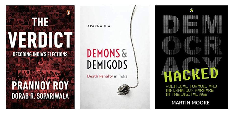 A book that talks about India's electoral history and provides pointers to what to look out for in the elections of 2019, one that makes an impassioned plea against capital punishment, and how, as we migrate online, our attention is being sold to the highest bidder - a clutch of serious book on the reading list this week!