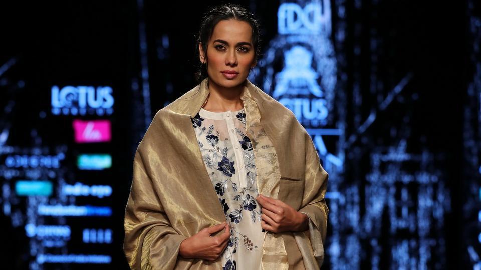 Pratima Pandey/ Lotus Make-Up India Fashion Week AW' 2019