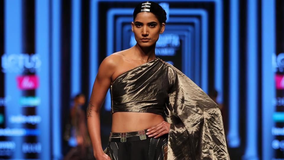 Amita Gupta/Lotus Make-Up India Fashion Week AW' 2019