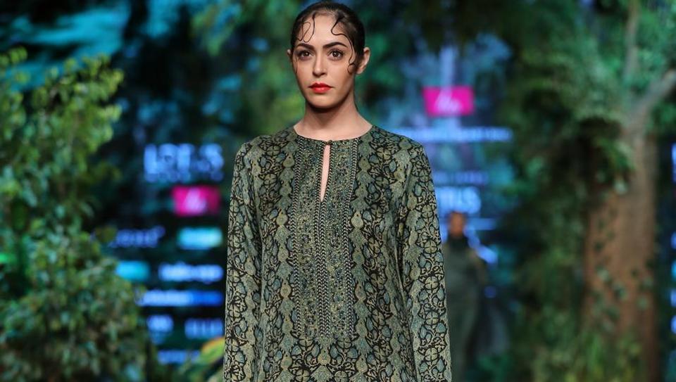 Shalini James/ Lotus Make-Up India Fashion Week AW' 2019