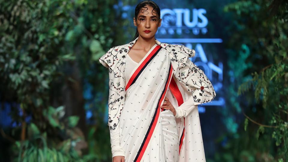 Samant Chauhan/ Lotus Make-Up India Fashion Week AW' 2019