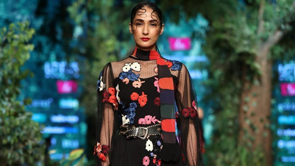 Rina Dhaka/  Lotus Make-Up India Fashion Week AW' 2019