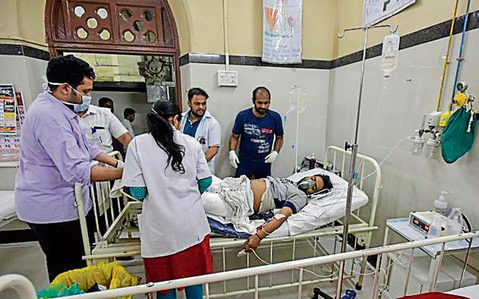 The injured were treated at GT Hospital andSt George Hospital.