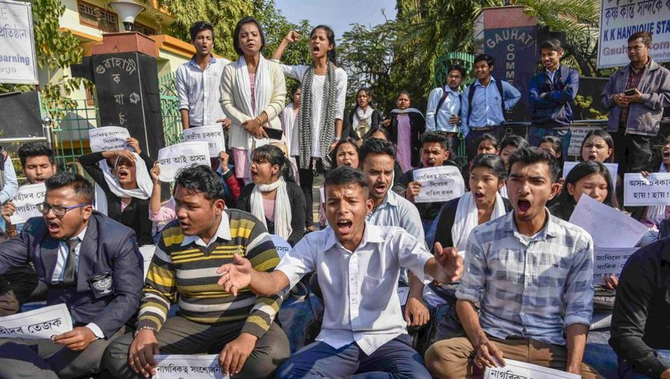 Widespread protests were held in the northeast against Citizenship (Amendment) Bill, which promises Indian citizenship to non-Muslim minorities from neighbouring countries.