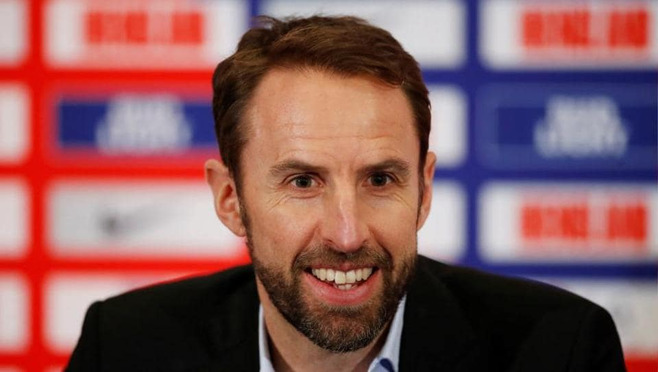 England manager Gareth Southgate during the squad announcement press conference