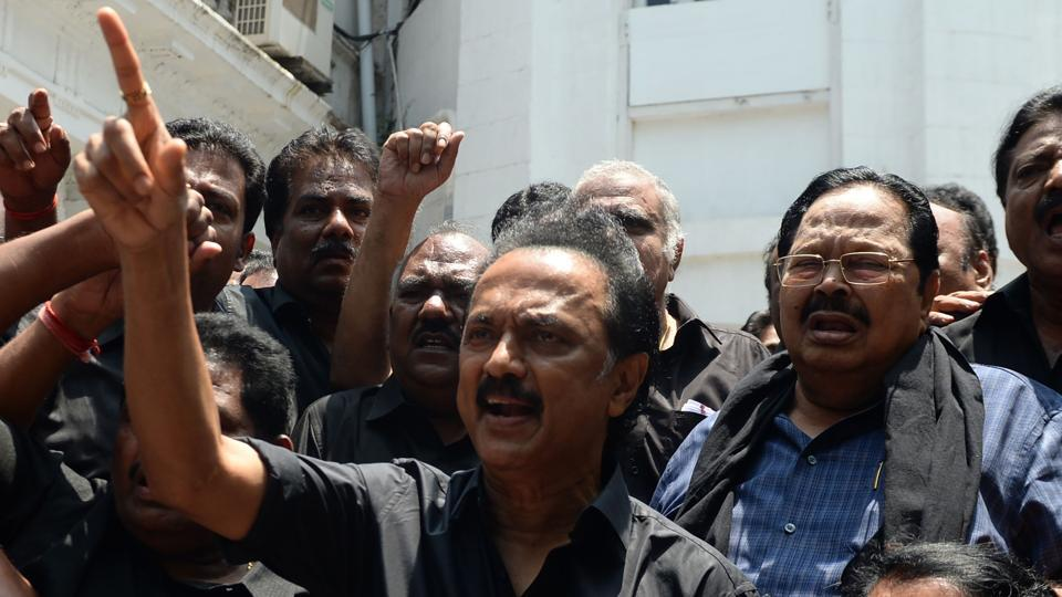 Chennai City Police filed a case against Sabareesan Vedamurthy, son-in-law of DMK president MK Stalin, on charge of spreading rumours alleging involvement of AIADMK functionaries in the issue.