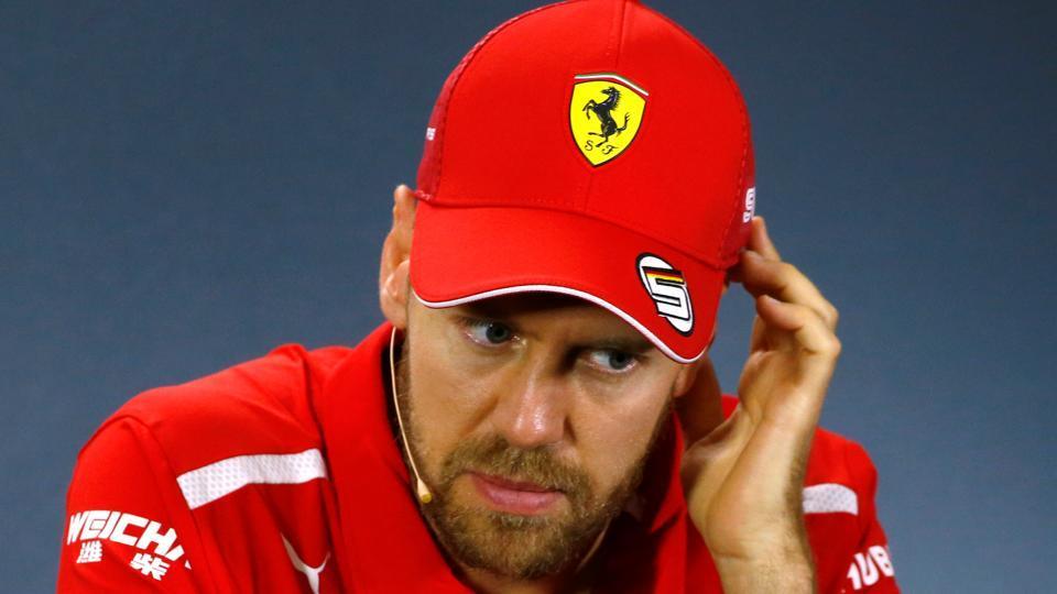File image of Ferrari's Sebastian Vettel.