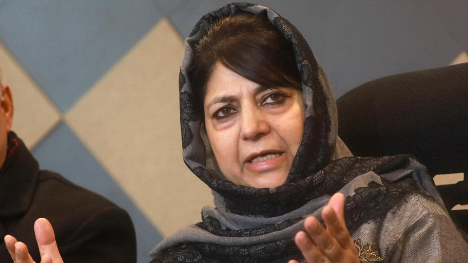 PDPchief  Mehbooba Mufti has started consultations with senior party leaders to finalise candidates for the 2019 LokSabha Elections.