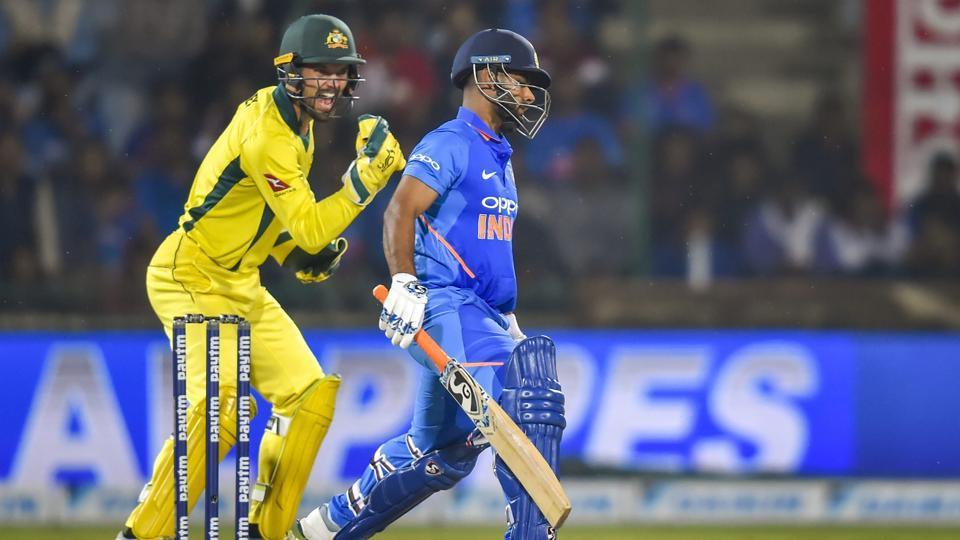 India vs Australia,Rishabh Pant,Shikhar Dhawan