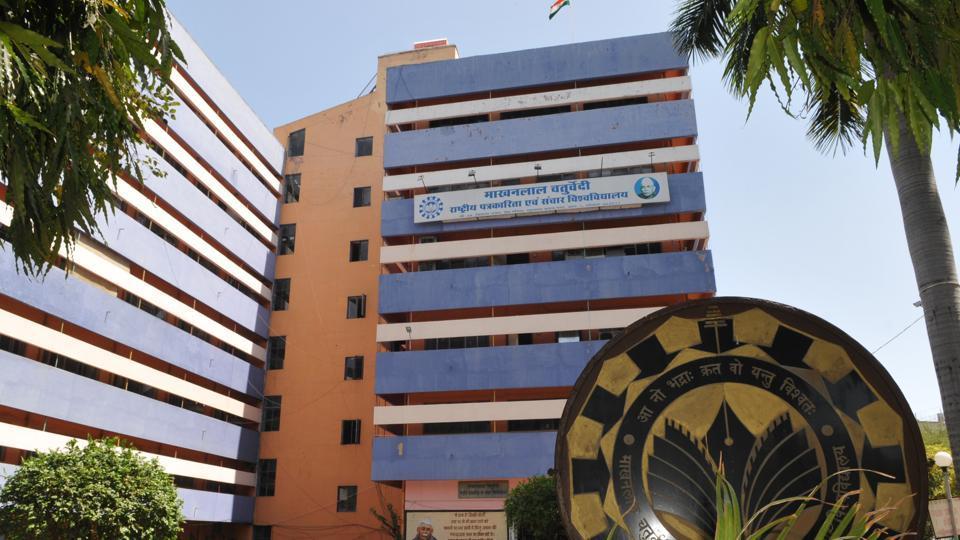 Makhanlal Chaturvedi National University of Journalism and Mass communication, in Bhopal.
