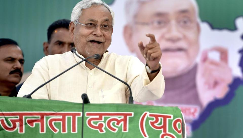 Bihar Chief Minister and JDU President Nitish Kumar
