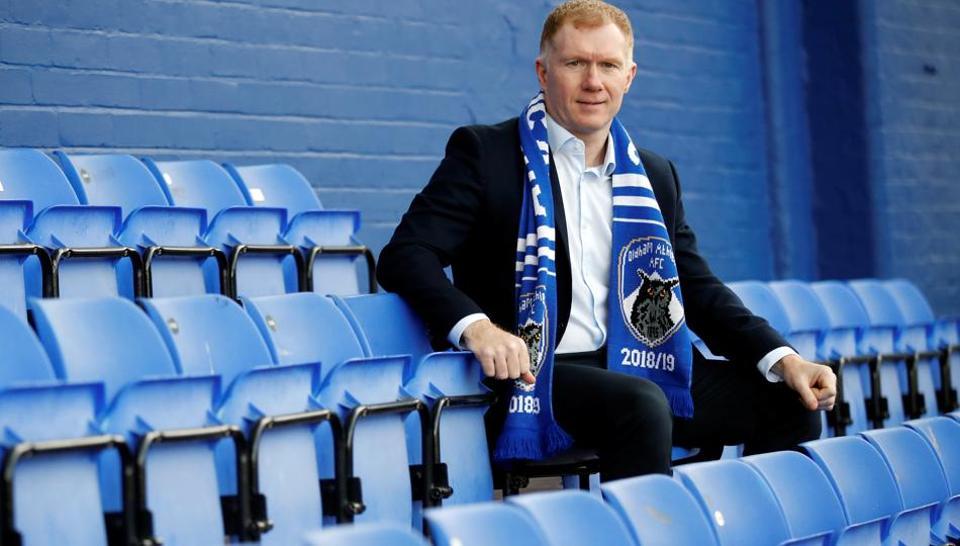Paul Scholes,Oldham boss