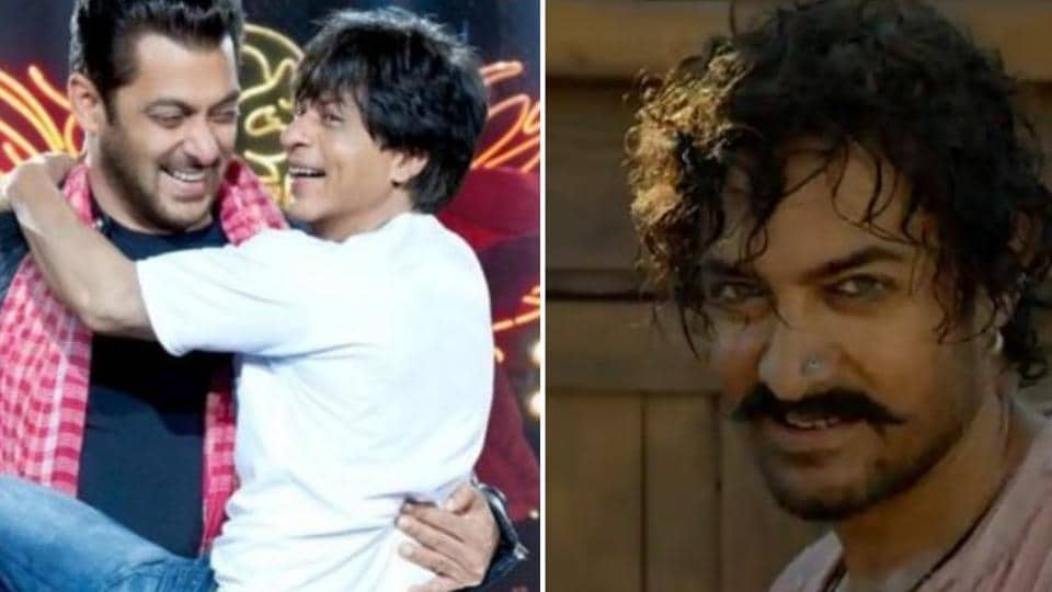 Aamir Khan reacted to a question onSalmanKhan and ShahRukhKhan coming together for a new film.