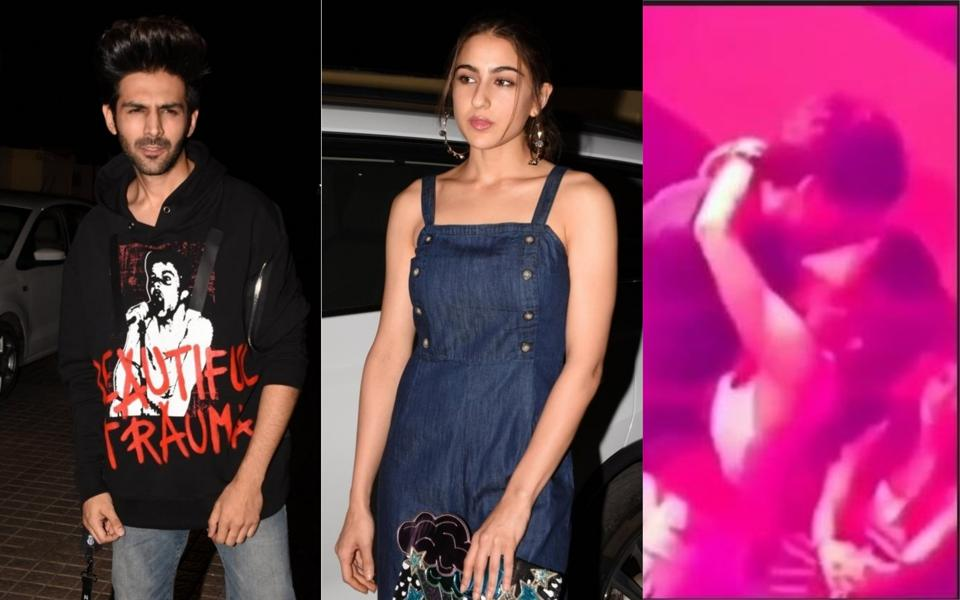 A video claiming to be featuring Kartik Aaryan and Sara Ali Khan has gone viral on web.