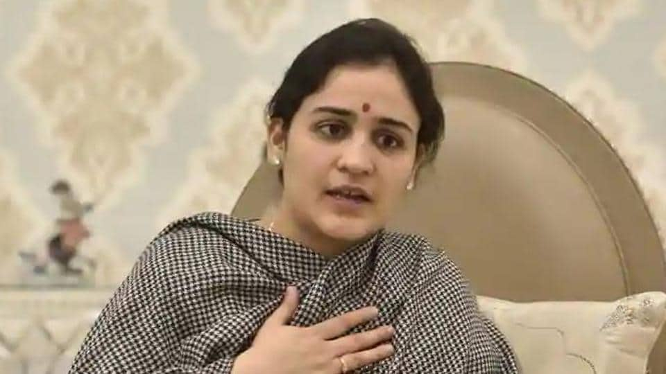 Samajwadi Party leader Aparna Yadav, the younger daughter-in-law of party founder Mulayam Singh Yadav, has not been named from Sambha seat in the new list of candidates released on Friday.