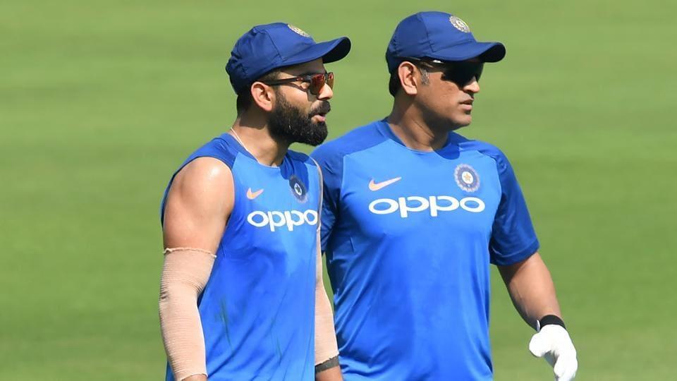 Anil Kumble,MS Dhoni,Indian cricket team