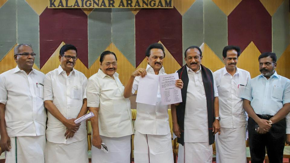 DMK retains strongholds in first list, leaves west, south TN