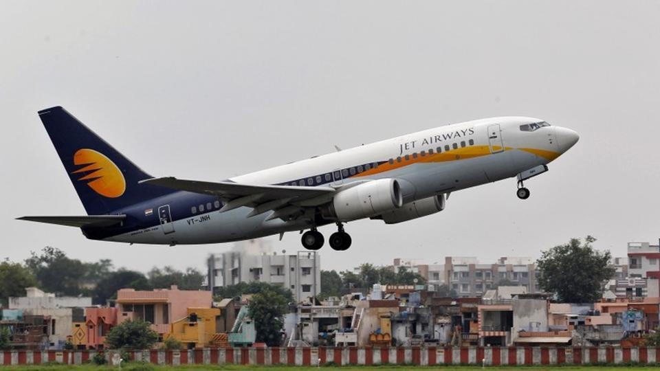 Cash-strapped Jet Airways pilots' union has written to the government, seeking its help in recovering their pending salaries along with the accumulated interest.