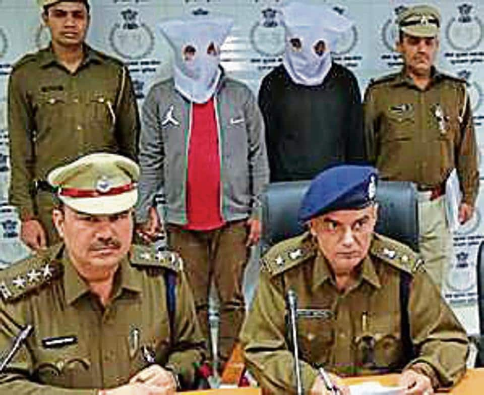 Suspects, Sumit, 26, and Sandeep, 24, both from Ghaziabad, were arrested on Thursday night from DLF Phase 2 when they were looking for their next victim.