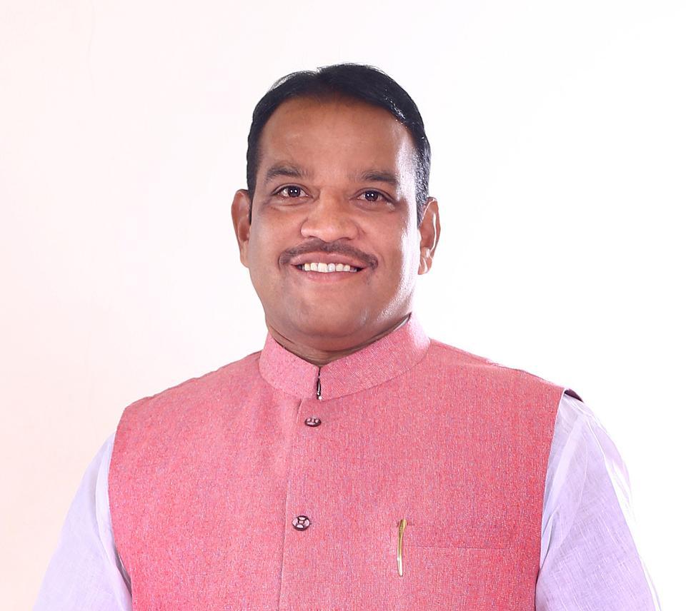 MP Shrirang Barne in Pune