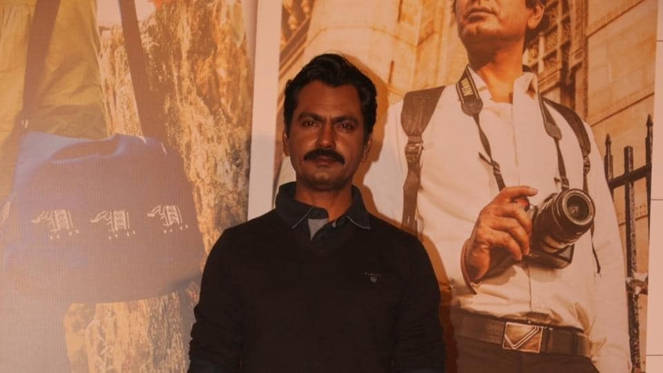 Nawazuddin Siddiqui during the launch of Tumne Mujhe Dekha, a song from the film Photograph in Mumbai on March 9.