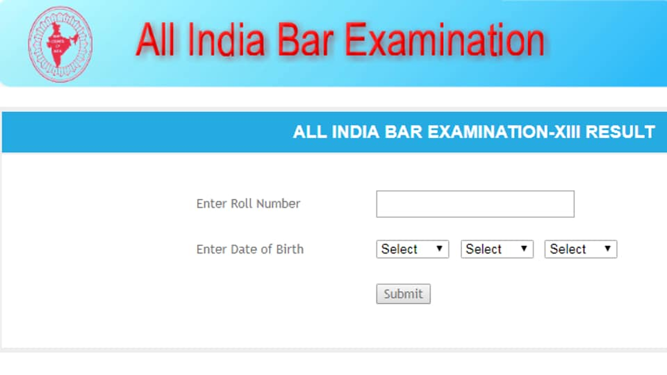 AIBE XII,AIBE Results 2019,AIBE Results