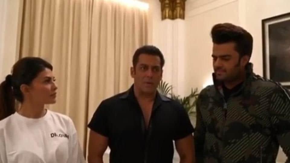 Salman Khan,Katrina Kaif,Jacqueline Fernandez