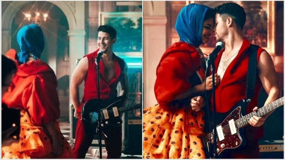 Priyanka Chopra shares an appreciation post for husband Nick Jonas as he begins shooting for Jumanji 2