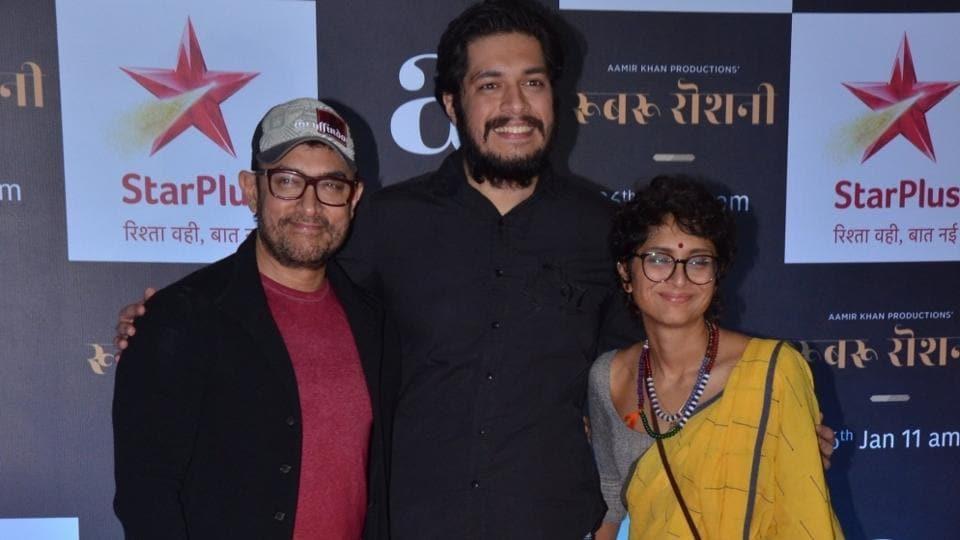 Aamir Khan,Aamir Khan Son,Junaid Khan