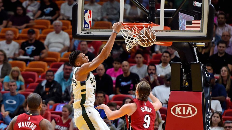 NBA Roundup,Milwaukee Bucks,Miami Heat