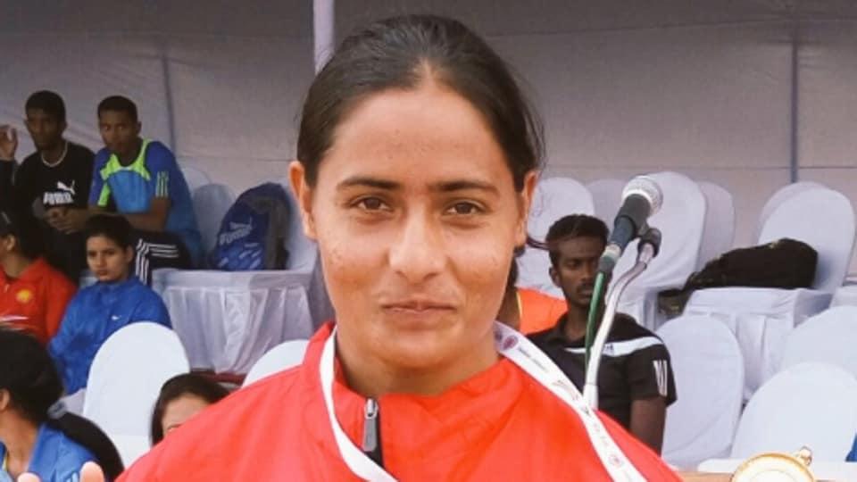 National Senior Athletics Championships,Annu Rani,National record