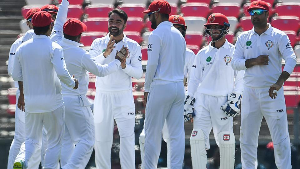 Afghanistan beats Ireland to claim historic first cricket test win