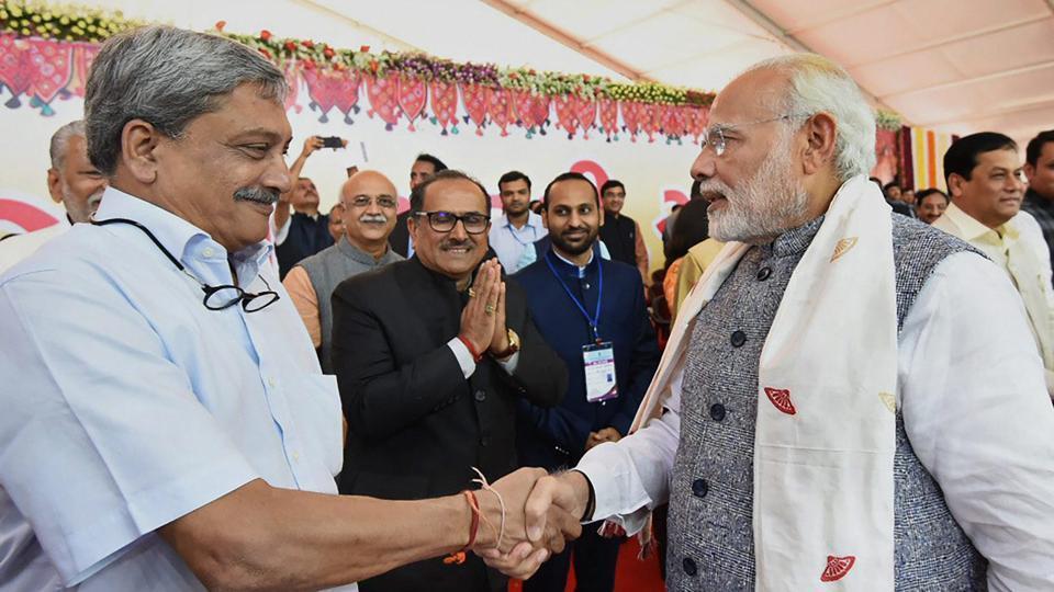 Manohar Parrikar,Goa,PM Narendra Modi
