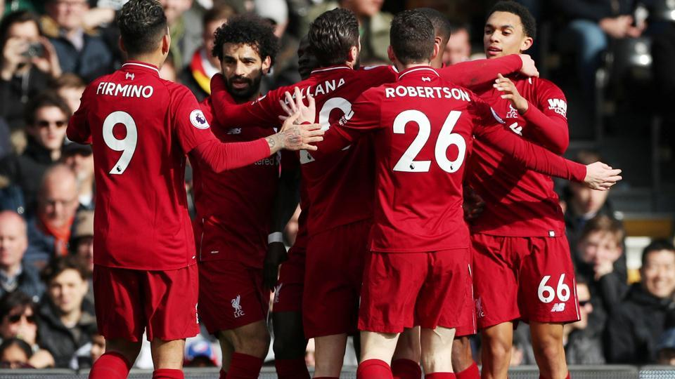 Liverpool survive Fulham scare to go top of Premier League | football