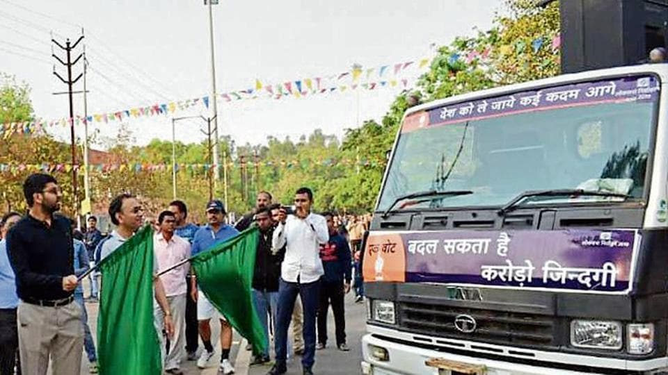 Lok Sabha elections 2019: Ban on party posters, poll