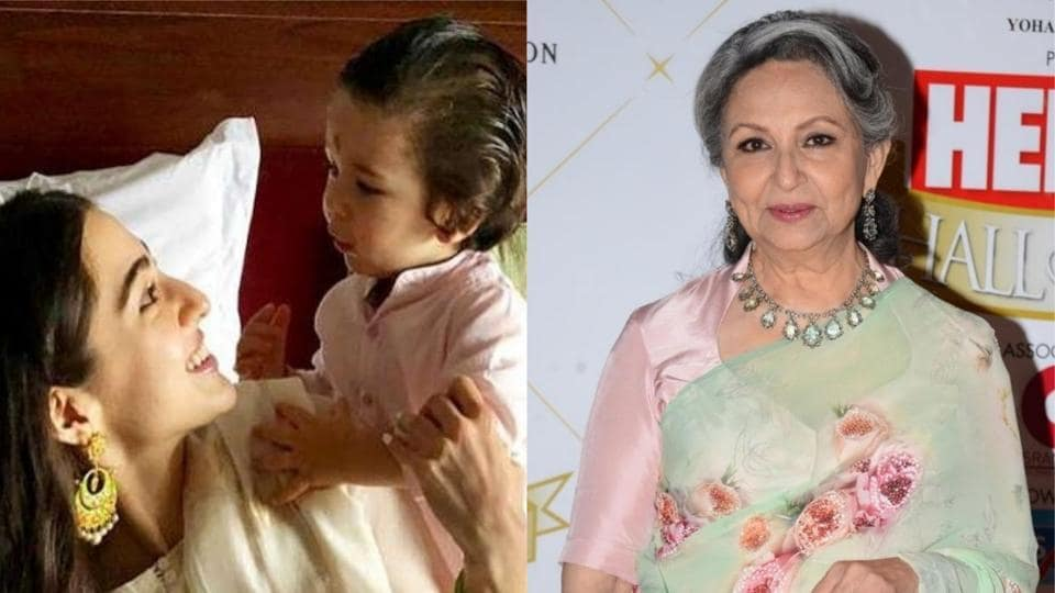 Sharmila Tagore was asked about paparazzi obsession with her grandson Taimur at an event.