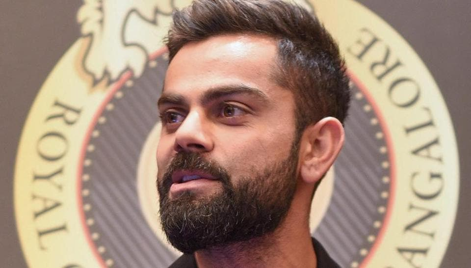 Royal Challengers Bangalore (RCB) captain Virat Kohli speaks during the launch of the team's mobile application at a press conference, in Bengaluru, Saturday, March 16, 2019