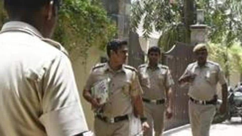 Delhi Police on Monday said they had busted a gang of vehicle thieves who stole cars parked outside gymnasiums in Delhi and Haryana.  (Photo by Raj K Raj / Hindustan Times)