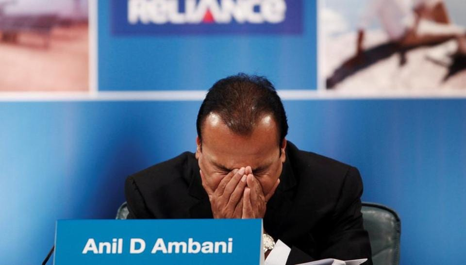 Anil Ambani, Chairman of the Reliance Anil Dhirubhai Ambani Group, attends the annual general meeting of Reliance Communication in Mumbai.