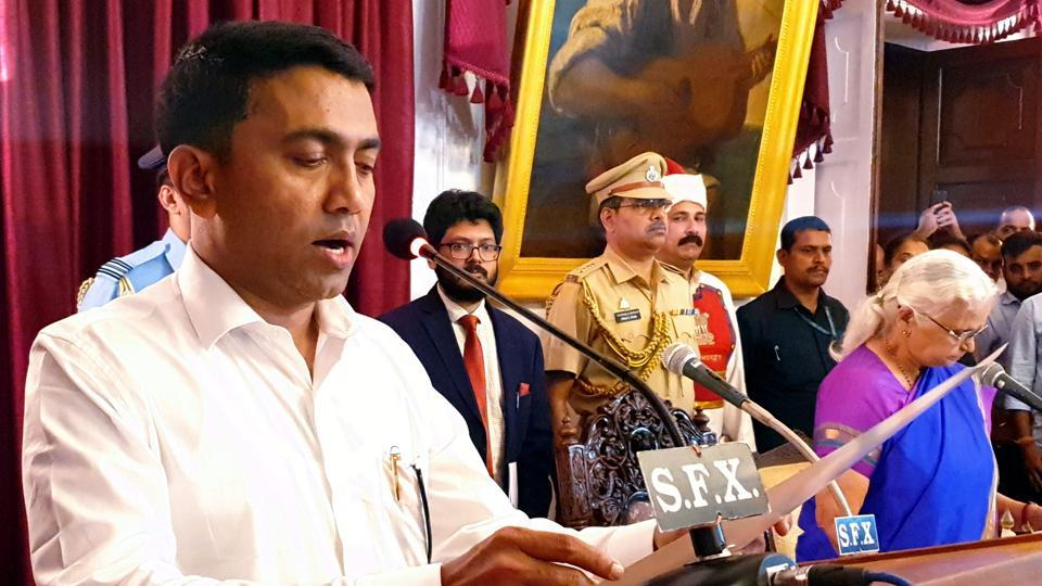 """Newly-sworn in Goa chief minister Pramod Sawant has said he will take forward the legacy of his predecessor Manohar Parrikar as he admitted he had a """"big responsibility"""" before him."""