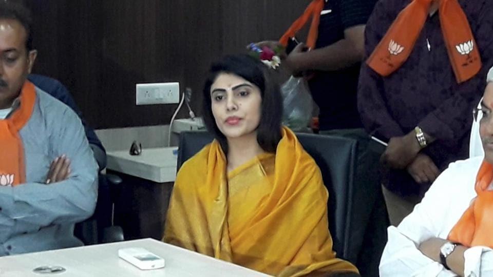 Rivaba Jadeja, wife of cricketer Ravindra Jadeja, is seeking a Bharatiya Janata Party (BJP) ticket from Gujarat's Jamnagar seat, from where the Congress is likely to field Patidar agitation leader Hardik Patel.