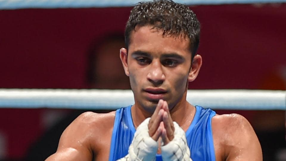File image of India boxer Amit Panghal.
