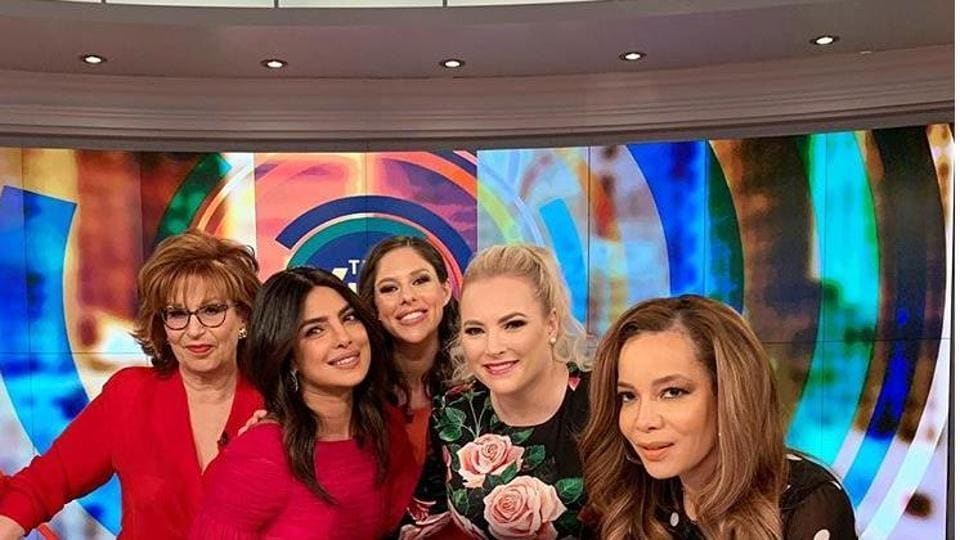 Priyanka Chopra on ABC show, The View. She spoke about her marriage, featuring in her husband Nick Jonas' video and more.