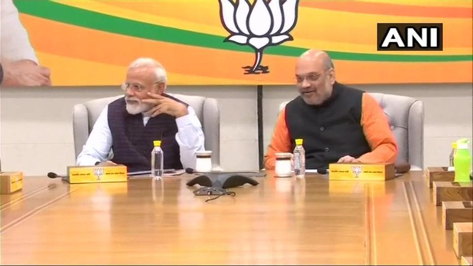 BJP poll panel meets to finalise names for Lok Sabha polls, but stops short of releasing list